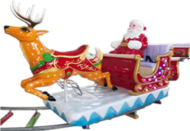 Chirstmas electric track train