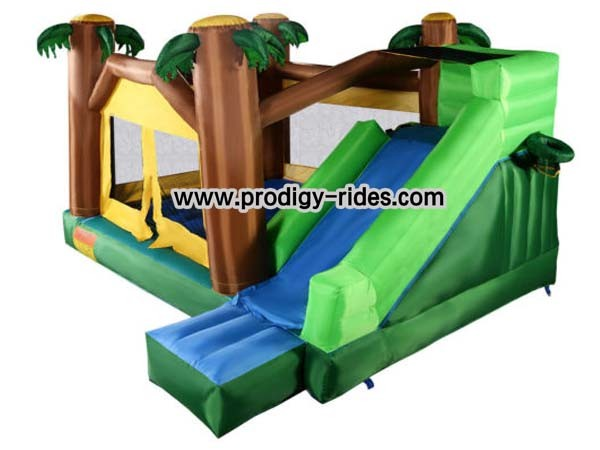 Palm Tree Bouncy Castle