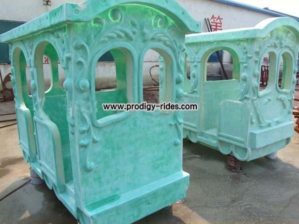 Elephant trackless Train